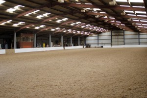Indoor riding school Muirmill